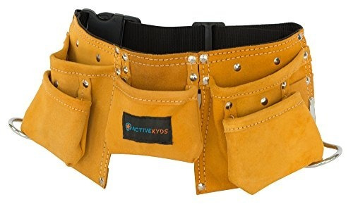 Active Kyds Leather Kids Tool Cinturón / Childs Tool Pouch P