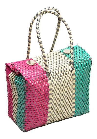 Bolsa Artesanal Ecológica 25x18x14pregunta X Colordisponible