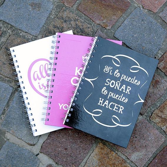 Cuadernos 15cm X 21cm Rayados Tapa Dura 80hjs X12u