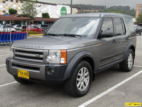 Land Rover Discovery V3 Se At 4000cc Aa 4x4
