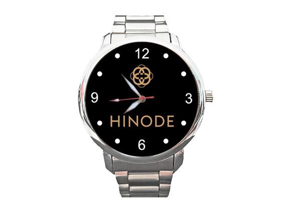 Relógio Hinode Cosméticos Saúde Beleza Corpo Perfume 10peças