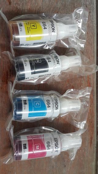 Kit Refil Tinta Impressora Epson L396 - Original