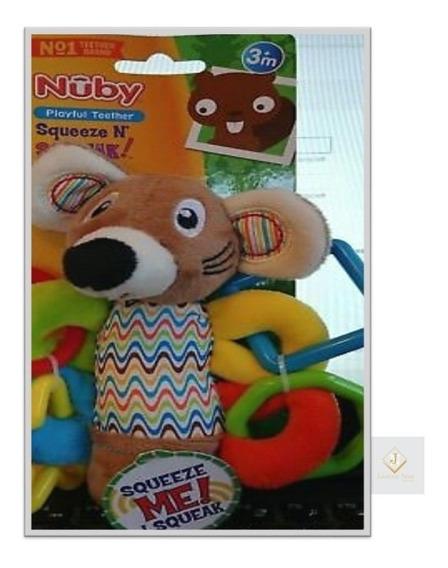 Mordedor Brinquedo Nuby Squeeze N