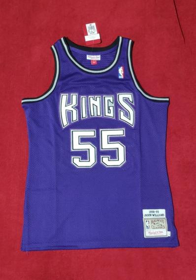 Jason Williams #55 Sacramento Kings Bordada Premium - Pedido