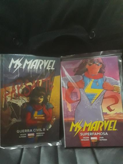 Encadernados Miss Marvel Guerra Civil 2 E Superfamosa