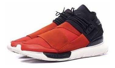 adidas Y-3 Qasa High Black/red