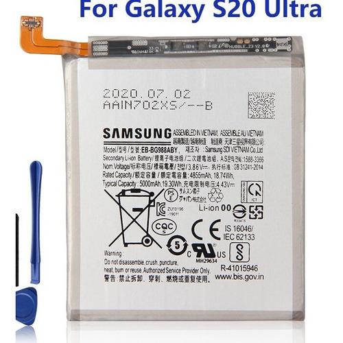 Bateria Original Samsung Galaxy S20 Ultra Eb-bg988aby Gtia