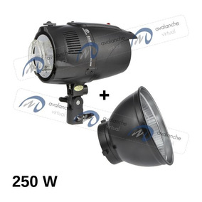 Flash Estúdio Greika 250w 220v Eg-250b Eagle Refletor Panela