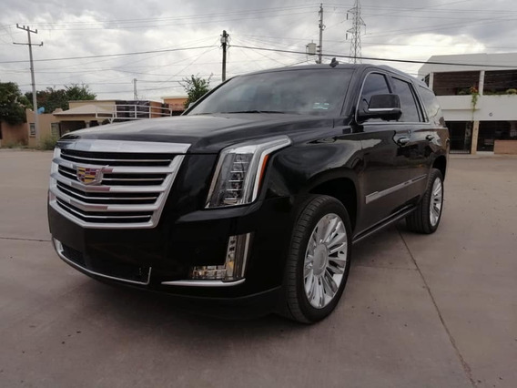 Cadillac Escalade Platinum 2016 La Mas Equipada Impecable