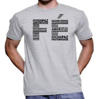 Camiseta Camisa Personalizadas Religiosas Para Jovens De Fé
