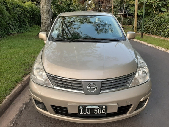 Nissan Tiida 1.8 Visia 2009.anticipo$178000 Y Cuotas Fijas$$