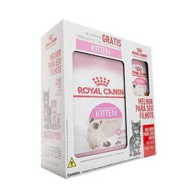Royal Canin - Gatos Filhotes - 1 Ração 1,5kg + 3 Sachês 85g.