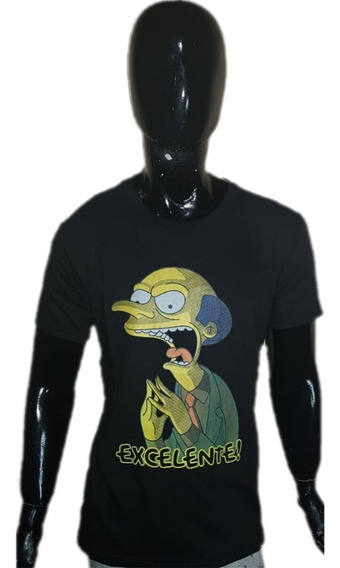 Remeras Simpsons. Algodon. Estampada Serigrafia