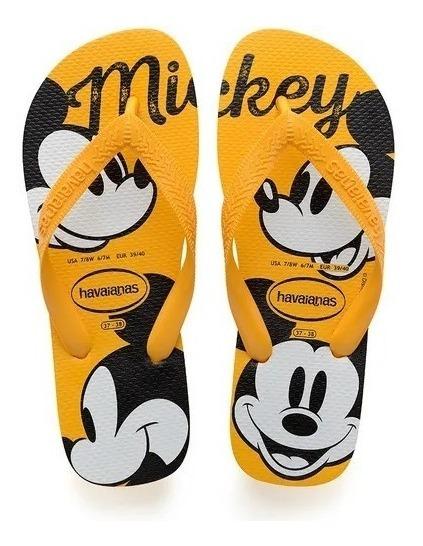 Havaianas Top Disney Mickey - Amarelo