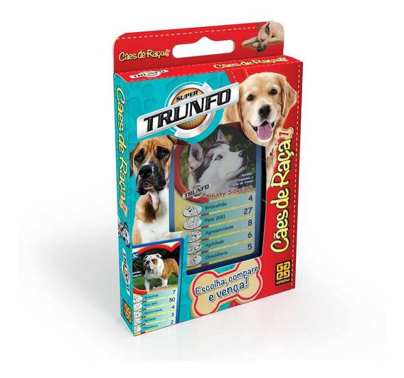 Super Trunfo Cães De Raça Grow