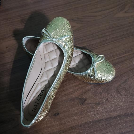 Chatitas Ballerinas Doradas 36