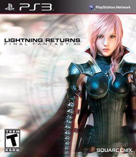 Final Fantasy Xiii Lightning Returns - Ps3 - Digital- Manvic