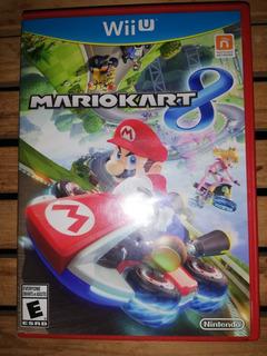 Mario Kart 8 Con Volante Y Control
