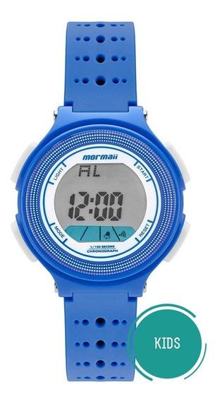 Relógio Mormaii Infantil Wave Mo0974/8a Azul Digital