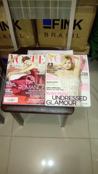 Revista Vogue Americana,marie Claire E Joyce 11 Unidades