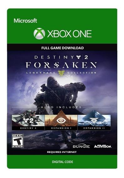Destiny 2 Forsaken Xbox One Código Oficial
