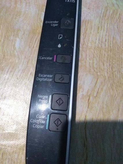 Placa Dos Botões Epson Stylus Tx115 Com Flex