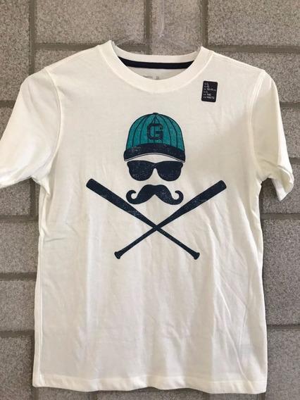 Camiseta Infantil Gap Tamanho 10 11 Anos Original Importado