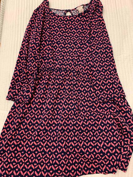 Vestido Gap Fucsia Estampado