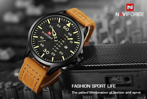 Relógio Masculino Naviforce Suporte Watch