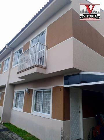Sobrado 3 Amplos Dormitórios Sendo 01 Com Closet À Venda - Uberaba - Curitiba/pr Próx A Av. Salgado Filho, Panificadora, Posto De Gasolina - So0799