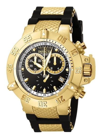 Relógio Invicta Subaqua Noma Iii Modelo 5514 Preto Com Caixa