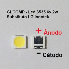 Led Smd Tv 3535 6v 2w Substituto Lg Innotek 200 Peças Carta
