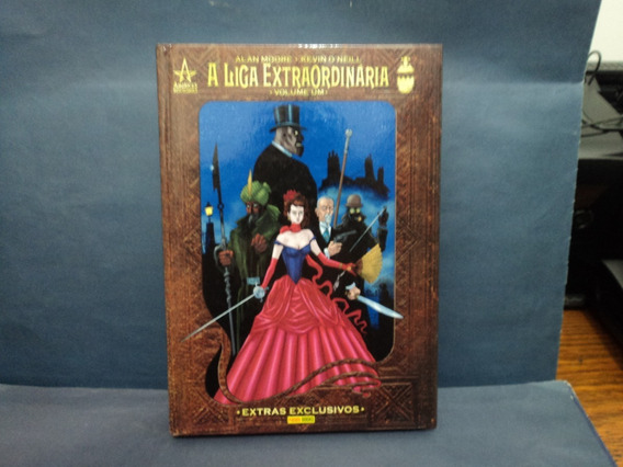 Livro: A Liga Extraordinaria Volume 1 Panini Books - Raro -