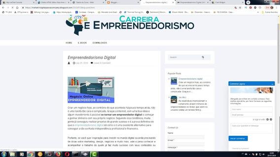 Codigo Html Para Criar Blog De Afilhiado Envio Link Download