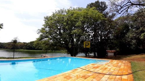 Imagem 1 de 27 de Chácara Com 3 Dormitórios À Venda, 6500 M² Por R$ 2.250.000,00 - Iate Clube De Campinas - Americana/sp - Ch0030
