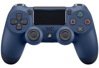 Control joystick inalámbrico Sony Dualshock 4 midnight blue
