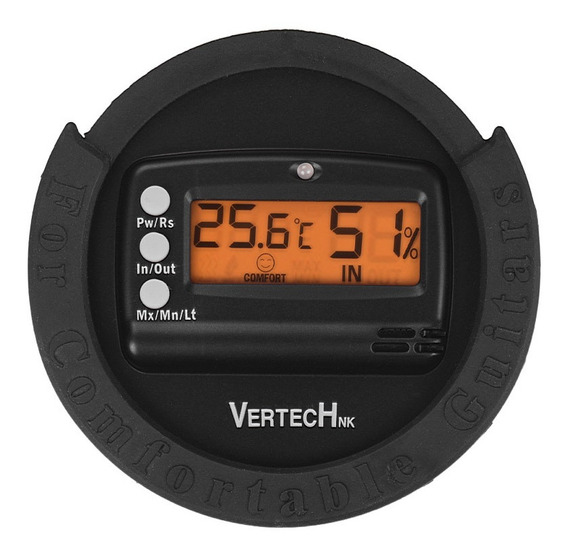Vertechnk Sky-85 Guitar Sound Hole Higrômetro Digital &