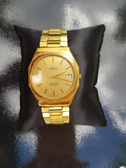 Relógio Mido Dourado