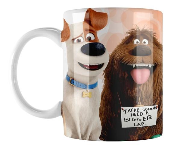 Tazas Souvenirs - La Vida Secreta De Tus Mascotas - Plastica