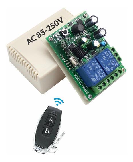 Rele Acionamento Sem Fio 110v 220v - Interruptor 2 Canais