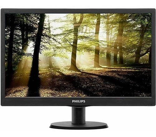 Monitor Led 18,5 Widescreen Philips 193v5lsb2 Hd