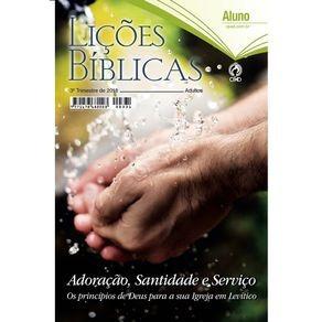 Kit Ebd Lições Biblicas - Cpad (conforme Especificação)