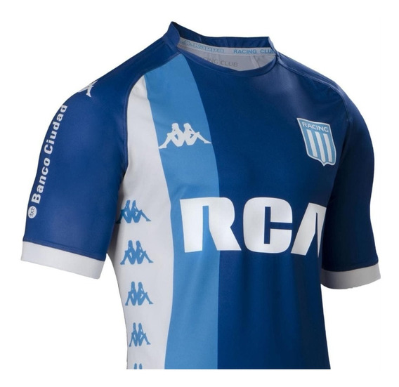 Camiseta Racing Club Oficial Alternativa Regular Kappa 2018