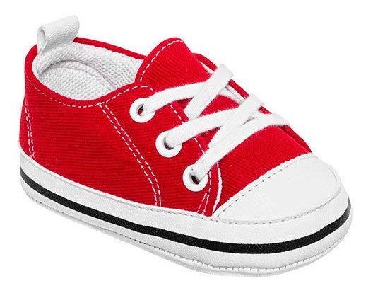 Melokoton Sneaker Urbano Textil Rojo Niño Bto12697