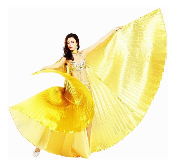 Alas Danza Árabe De Lame Colores.importado De Egipto/grande