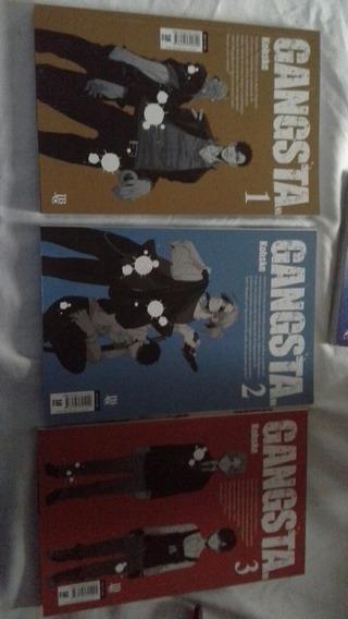 Mangá Gangsta Volumes 1 Ao 3 Coleção
