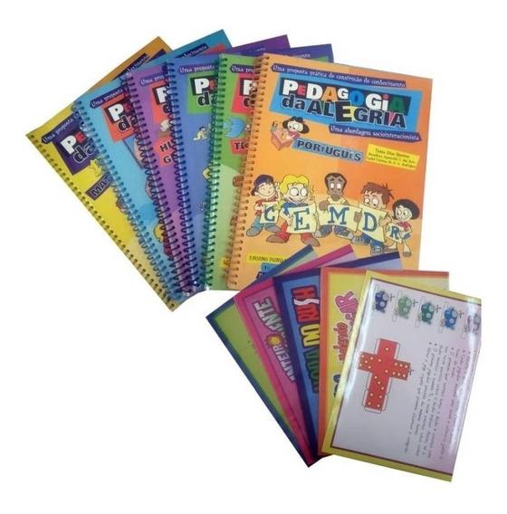 Coleção Pedagogia Da Alegria Ensino Fundamental C/ Dvd Promo