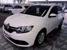 Renault Logan 1.6 Expression 8v 2016 Branco Flex