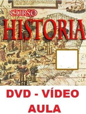 Aulas De História! Curso Em 1 Dvd T4a