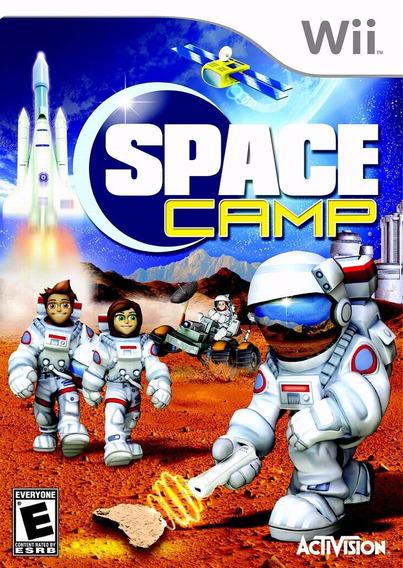 Jogo Midia Fisica Activision Para Nintendo Wii Space Camp